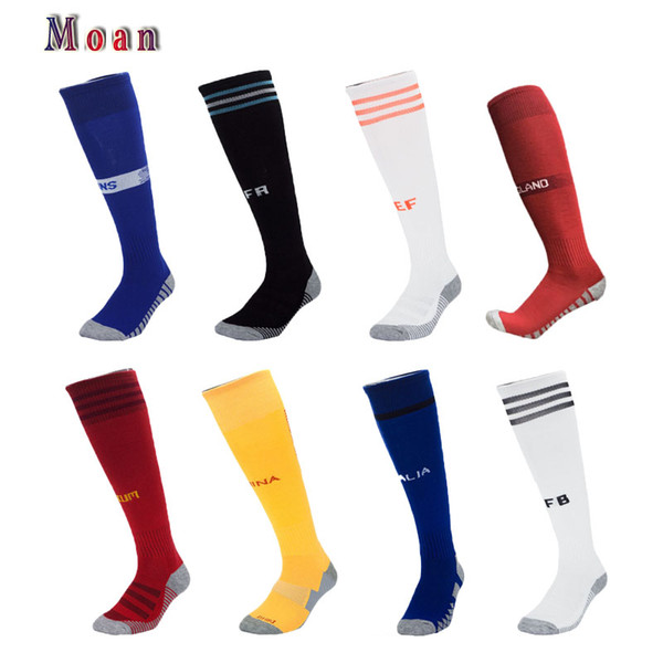 2018 World Cup national team professional training competition football socks men's towel bottom non-slip deodorant sports socks wholesale p