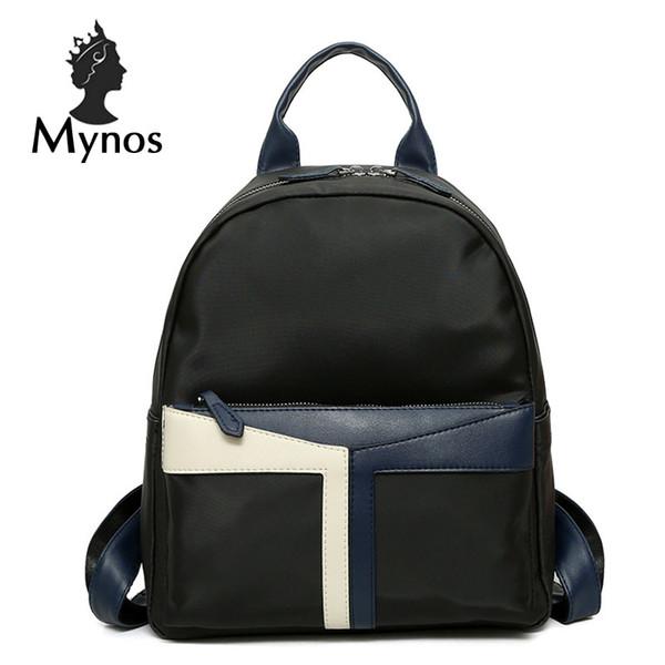 Luxury Brand Designer Women Backapck High Quality Nylon School Backpack For Teenager Girl Mochila Escolar Women Backbag