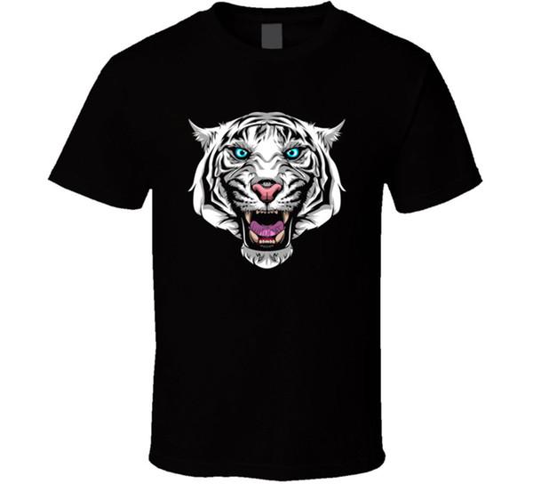 I Am Wildcat Youtuber Men's Black T Shirt Stunts Polaris Roaring Tiger New Men T Shirt Print Cotton Short Sleeve T Shirt