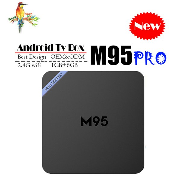 Best M95 PRO Allwinner H3 1G 8G Android 7.1 TV BOX Quad Core Ultra HD H.265 4K Stream Media Player Better Amlogic S905W X96 mini S912 T95Z