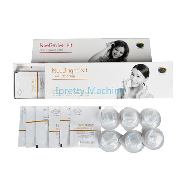 Produtos brilhantes de Neerevive dos cuidados com a pele ultra-sônicos faciais da massagem da cara do RF da máquina para o anti-envelhecimento e o alvejante da pele