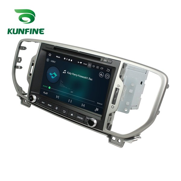 4GB RAM Android 8.0 Octa Core Car DVD GPS Player Navigation Stereo for KIA Sportage 2016