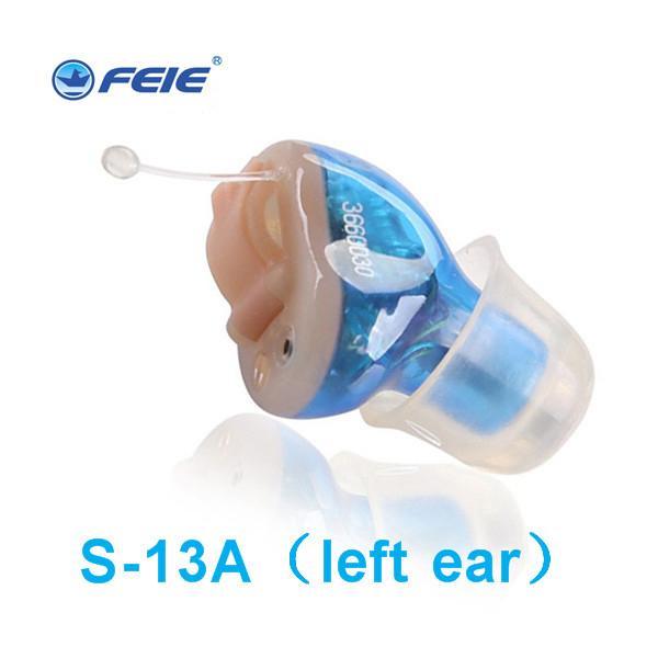 In Ear Mini Digital Hearing Aids Assistenza Amplificazione del Suono Regolabile Ricaricabile Hearing Aid Per Sordi Ear Care S-13A