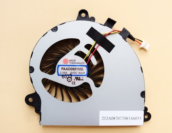 SSEA New CPU Cooling Fan for MSI GS70 GS72 MS-1771 MS-1773 CPU Fan PAAD06015SL N229