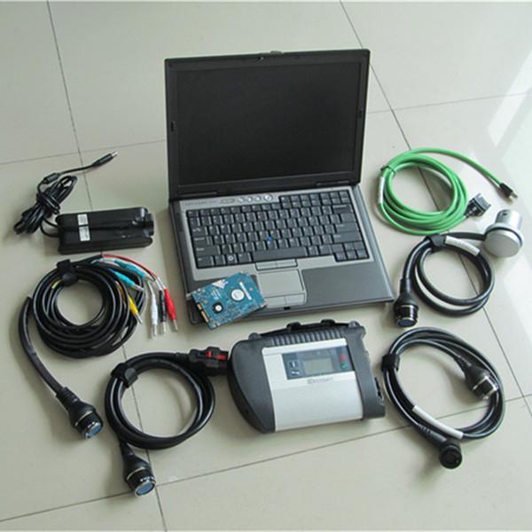 D630 laptop + 2018 / 12V Beste MB STERN C4 SD VERBINDEN WIFI diagnosewerkzeug sd c4 unterstützung 21 sprachen MB XENTRY SD C4 Geben DHL