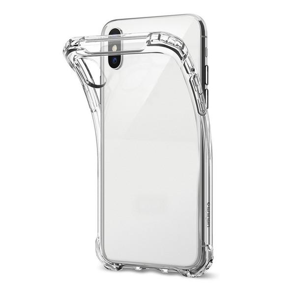 Ultra-Thin TPU Case pour NOUVELLE XR XS MAX Étui transparent en silicone souple antichoc transparent