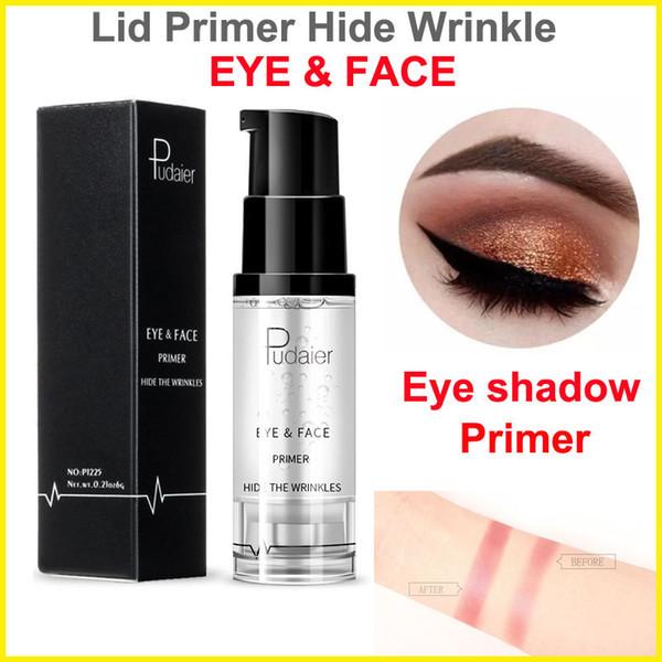 Pudaier Eyeshadow Primer maquillage Base Prolong Ombre à paupières Primer Brighten Crème Maquillage Yeux et Visage Masquer les rides
