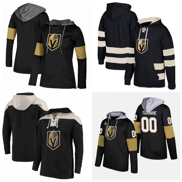 Custom Vegas Golden Knights Hoodies Jerseys James Neal Marc-Andre Fleury Erik Haula David Perron William Karlsson Hockey Hooded Sweatshirt