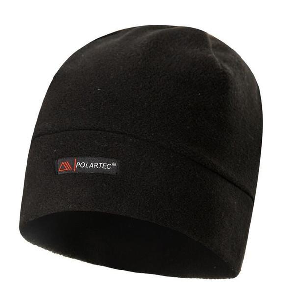 Fleece Beanies Knit Men's Winter Hat Caps Skullies Bonnet Winter Hats For Men Women Beanie Warm Outdoor Sports Hat Ski Cycling Tactical Hats