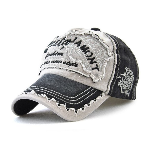 Classic embroidered patchwork cotton baseball cap adjustable strapback golf sun hat curved visor snapback caps free shipping