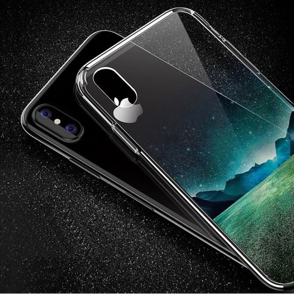 Shockproof TPU Beautiful Landscape Painted Phone Case For iPhone X 5S 6 6S 7 8 Plus Ultrathin Transparent Soft Silicone Back Cover Skin