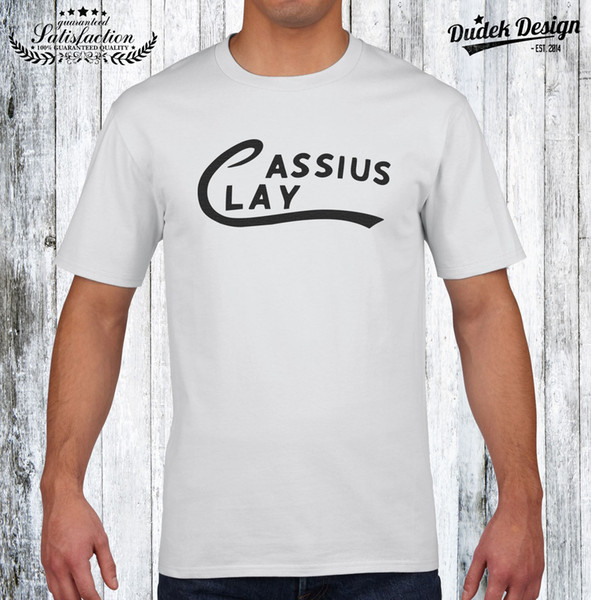 Cassius Clay T Shirt Muhammad Ali The Greatest Heavyweights Legend Funny Tops Tee New Unisex Funny Tops Free Shipping