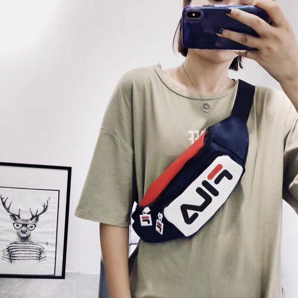 2019 Designer Taille Taschen Brieftasche Mens Luxury Brand Gürtel Taschen Kartenhalter Casual Leinwand Reisetaschen Männer und Frauen Clutch Geldbörse