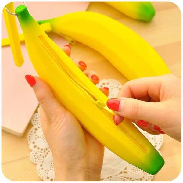 Acheter Banane Porte Monnaie Femmes Portefeuilles Petit Dessin Animé Mignon Kawaii Titulaire De La Carte Porte Clés Sacs Dargent Pour Filles Dames