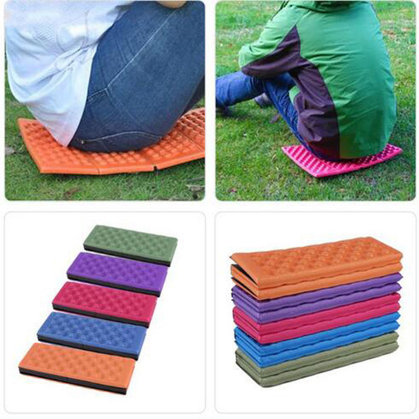 Surprising Camping Mat Waterproof Chair Pad Mat Eva Park Cushion Hiking Folding Cellular Cushions Outdoor Travel Egg Slot Outdoor Chair Cushions Clearance Porch Cjindustries Chair Design For Home Cjindustriesco