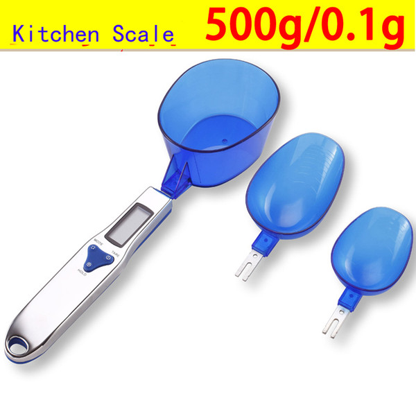 Digital spoon scale , household Kitchen Scale ,electronic Weighing tea baking kitchen scales 500g/0.1g