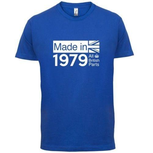 1979 British Parts 37th Birthday Mens T-Shirt 13 Colours Gift Present