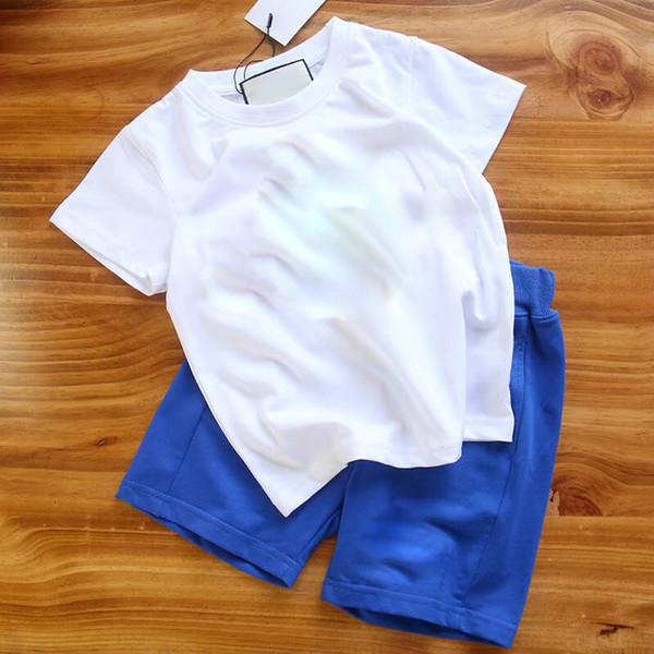 5b26017a 2PCS Suit Baby Boy Clothes Children Summer Toddler Boys Clothing set  Cartoon 2018 New Kids Fashion