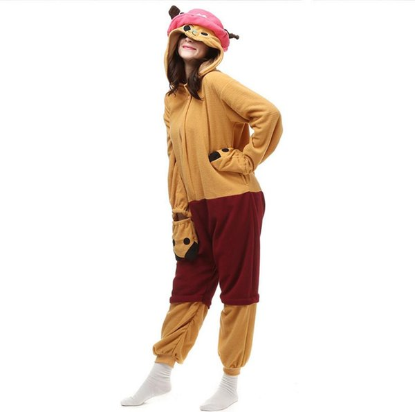 Autumn and Winter Pajama Sets Cartoon Sleepwear Women Pajama Flannel Animal Stitch Panda Unicorn Tigger kigurumi