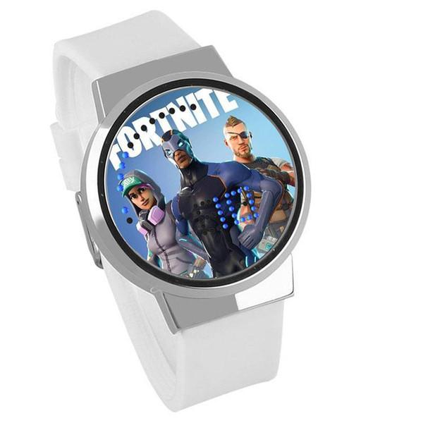 63 Stili Fashion Game Fortnite Battle Royale orologio da polso da uomo in cartone animato Orologio elettronico regalo regalo spedizione gratuita