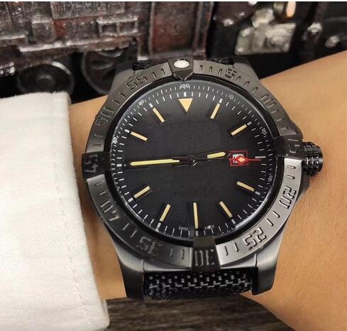 Wholesale - Luxury AAA Men&039;s Avenger II Black Bird Watch Stainless Steel 8213 Automatic Mechanical Men Mens Watch Watches