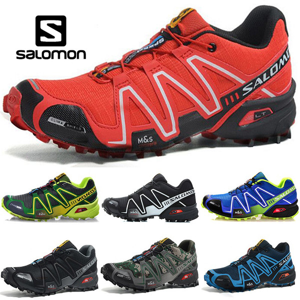 Salomon Speed Cross 3 CS Men Designer Running Shoes Black Green Red Blue Outdoor Men Sports Sneakers Size 40 45 Latest Shoes Top Running Shoes From