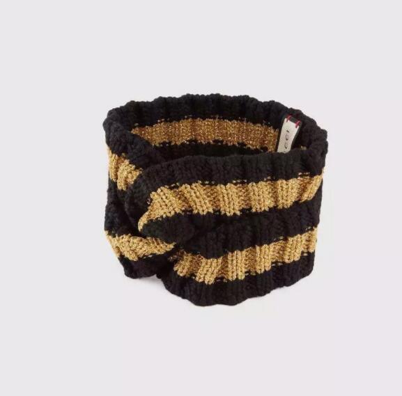 Fashion new casual hair band New Zealand Merino wool knitted hair band