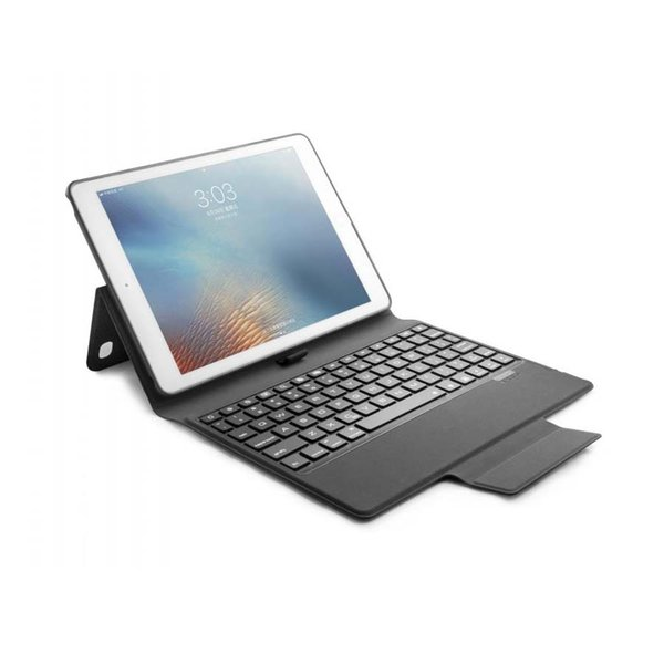 """Universal Bluetooth Keyboard 4.0 Stand Smart PU Leather Cover Case For 2018 iPad Pro 9.7"""" iPad air 2 iPad 5 6"""