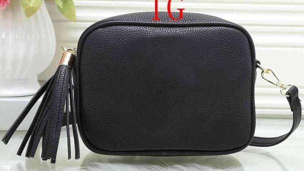 Top fashion Women famous shoulder bag designer handbag cross pattern square bags shoulder messenger bag tassel cross body soho chain purse
