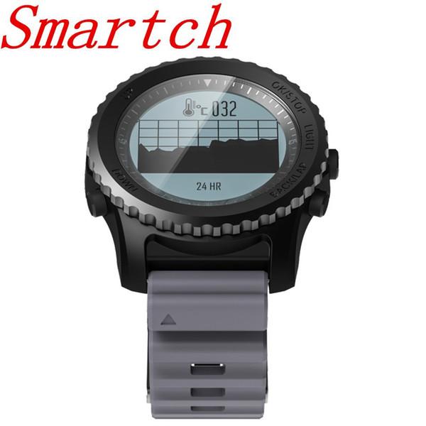 Smartch S968 Sport Smart Watch IP68 Impermeabile Sonno Monitor della frequenza cardiaca Barometro Termometro Altimetro Pedometro GPS Smart Watc