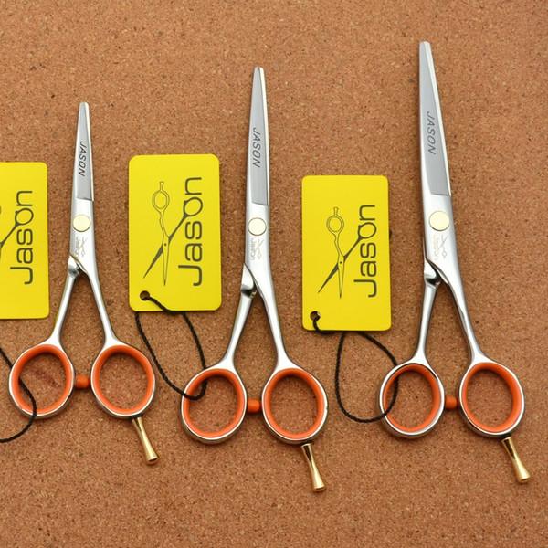 302# 4''/5''/5.5'' Brand Jason TOP GRADE Professional Hairdressing Scissor JP 440C Barbers Thinning Cutting Scissors Hair Shears
