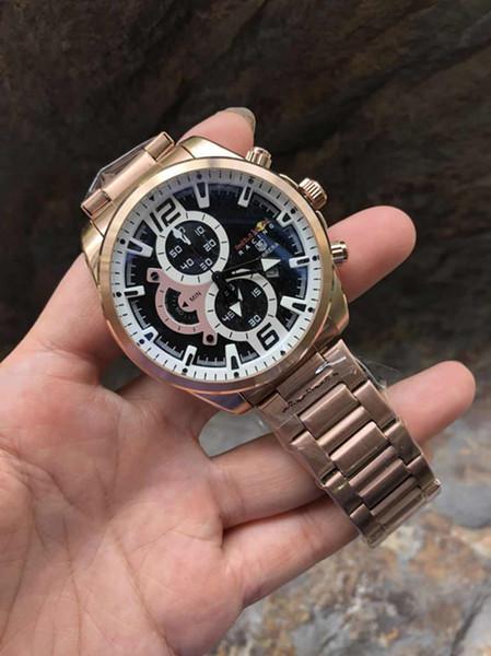 2018 New watches men luxury brand watch fashion mens watches quartz watch military montre homme male wristwatch wrist watches Herenhorloge
