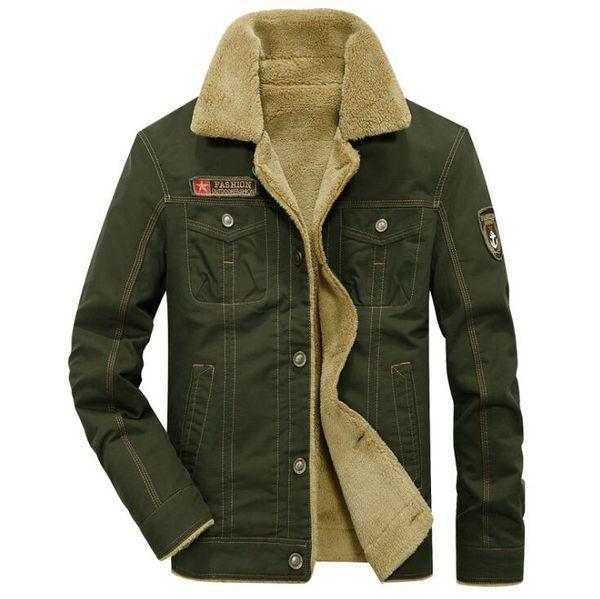 Großhandel Winter Bomberjacke Männer Air Force Pilot MA1 Jacken Warme Männliche Pelzkragen Armee Jacke Taktische Herren Jacken Größe 5XL Von