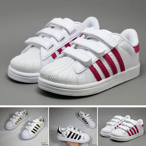 Acheter Adidas Dorp Expédition 18 Couleurs Super Star Mode Hommes Femmes Grand Enfants Chaussures Sneakers Casual Sport Chaussure De $73.73 Du