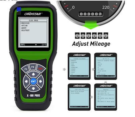OBDStar x100 pro Auto Key Programmer X100 PROS C+D+E IMMO+Odometer+OBD x100 pros with eeprom Odometer correction tool
