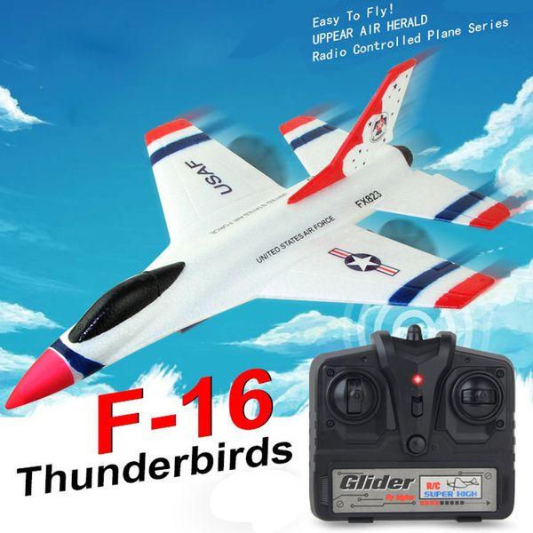 FX-823 2.4 G 2CH RC самолет планер пульт дистанционного управления самолет открытый самолет пульт дистанционного управления модель самолета авиамоделирование