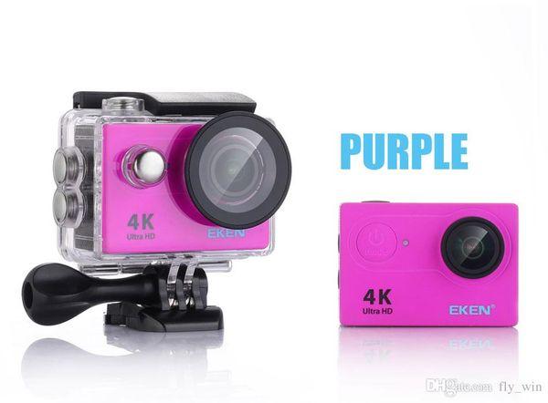 100% original Eken H9 / H9R Ultra HD 4K acción deporte cámara 30m a prueba de agua 2.0 'pantalla 1080p deporte cámara ir extremo libre de DHL