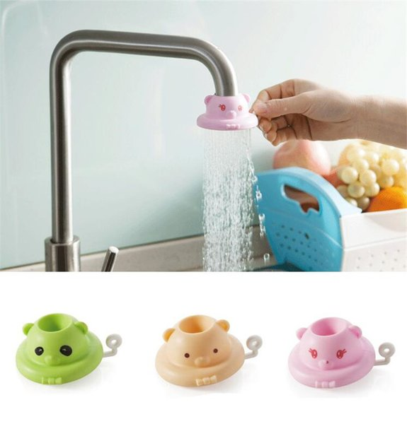 Wholesale Splash Shower Bathroom Faucet Shower Head Nozzle Faucet Anti T Cartoon Kitchen Tap Water Saving Device