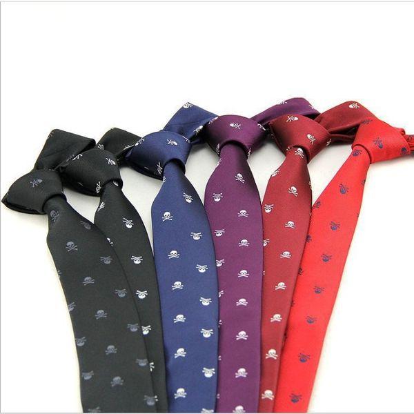 High Quality Men's Tie 6 Colors 6*145cm NeckTie Paisley Silk Mens Tie Printed Suit Ties Wedding Business & Bridegroom Neck Ties For Men