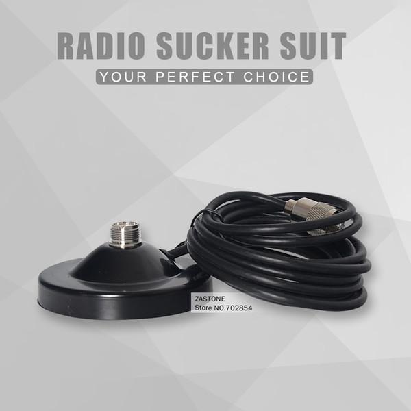 13CM aimant 5M câble d'alimentation Walkie Talkie Accessoires PL259 Base d'antenne magnétique pour voiture Talkie Walkie Mobile radio