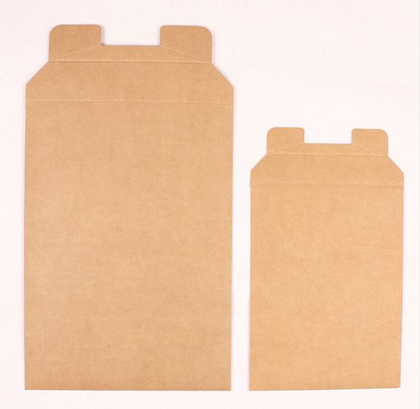 20 adet / grup A4 A5 Kraft kağıt çanta Dosya çantası Hattı toka bilgi Hediye zarf