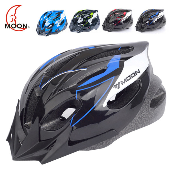 MOON High Quality Kids Bicycle Helmet PC+EPS Ultralight Children Cycling Helmet 16 Air Vents Safety Kids Bike Helmet Y1892908