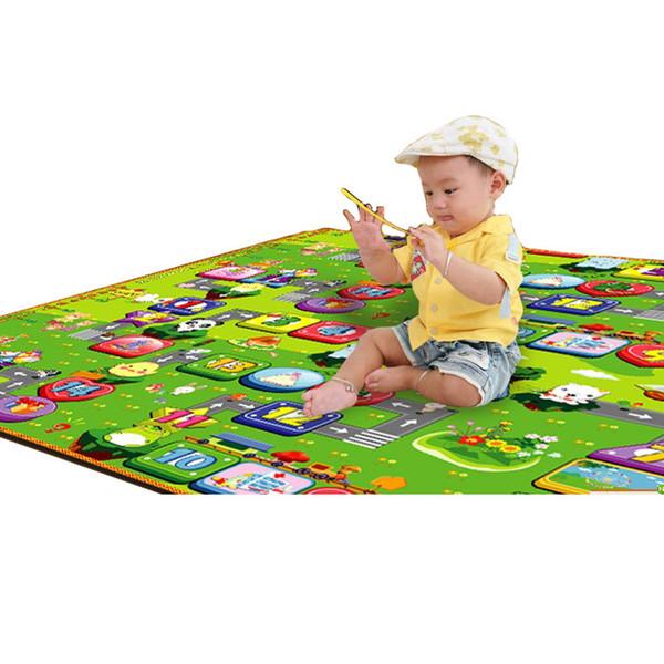 Multifunktionale Spielmatten Outdoor Teppich EVA Schaum Boden Picknick Baby Krabbeln Klettern Spiel Decke Fabrik Preis Verkauf Großhandel