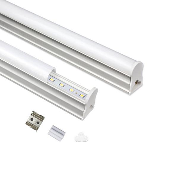 900mm integriertes T5 führte Rohre 3FT 3 Fuß 18W SMD2835 führte Leuchtstoffröhren-Licht warmes / kaltes weißes Wechselstrom 85-265V + CE ROHS UL