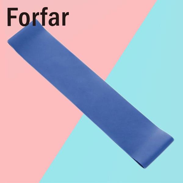 Banda de resistencia a la tensión Ejercicio Loop Fuerza azul 0.7mm Equipo Moda