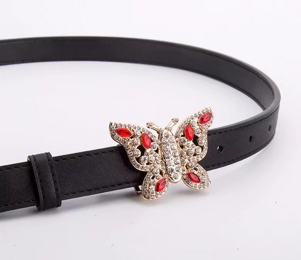 Hot sale 2018 high quality designer belt luxury fashion belts for women alloy gold genuine leather waist belt size 2.0cm