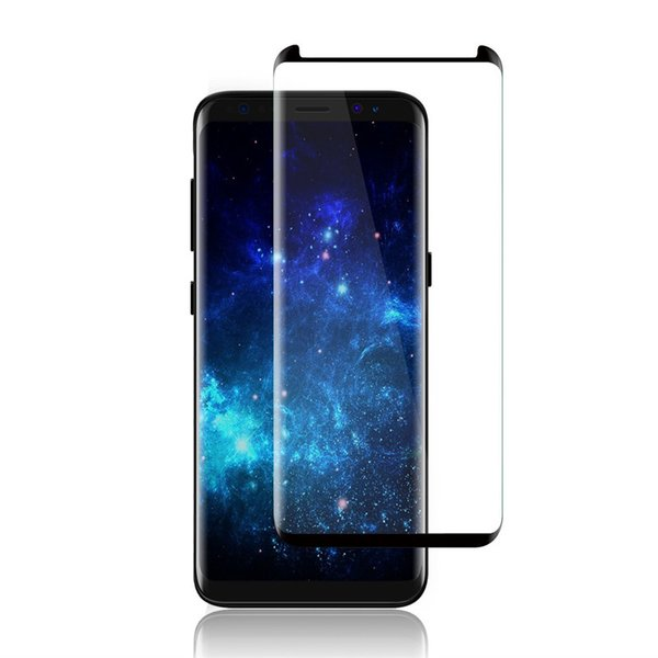 For New iPhone XS XR Max X 8 7 6 6S Plus Samsung S9 S8 Plus galaxy Note 9 8 Tempered Glass Full Screen color Protector 3D Curved S6 S7 Edge