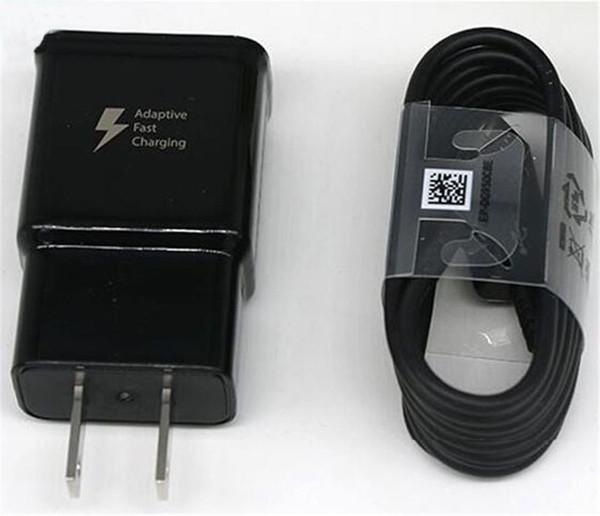 EUA carregador rápido + cabo tipo c de 1,2 m