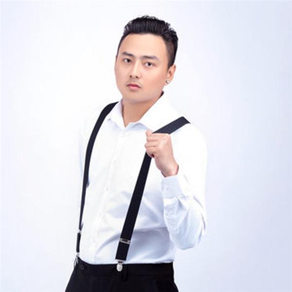 Men Shirt Stays Garters Suspenders Braces For Shirts Gentleman 4 Steel Clips Elastic Men Shirt Suspenders Garter Holder