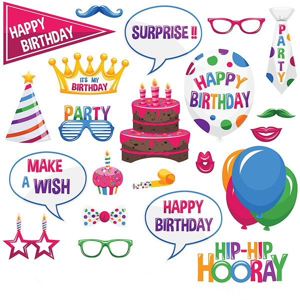 Фото стенд реквизит фотография маска бумажная открытка Свадьба / День Рождения / команда невесты украшения событие подарок торт корона воздушный шар дизайн